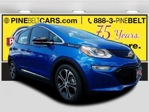 Kinetic Blue Metallic 2017 Chevrolet Bolt EV Premier