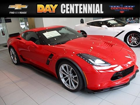 Torch Red 2018 Chevrolet Corvette Grand Sport Coupe