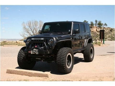 Granite Metallic 2014 Jeep Wrangler Unlimited Rubicon 4x4