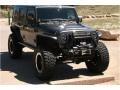 Jeep Wrangler Unlimited Rubicon 4x4 Granite Metallic photo #4