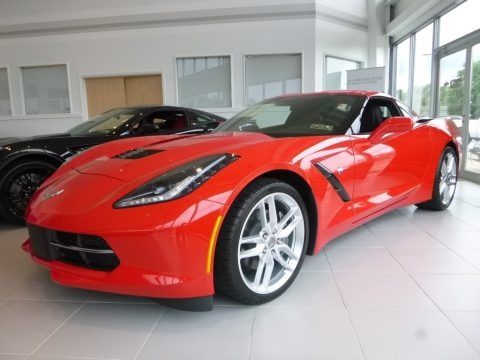 Torch Red 2018 Chevrolet Corvette Stingray Coupe