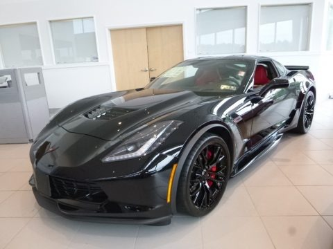 Black 2018 Chevrolet Corvette Z06 Coupe