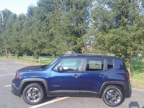 Jetset Blue 2017 Jeep Renegade Sport