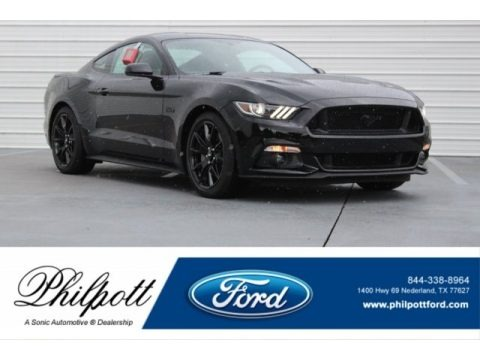 Shadow Black 2017 Ford Mustang GT Coupe