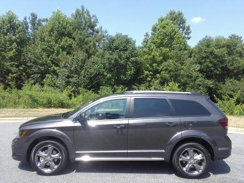 Granite Pearl-Coat 2017 Dodge Journey Crossroad Plus