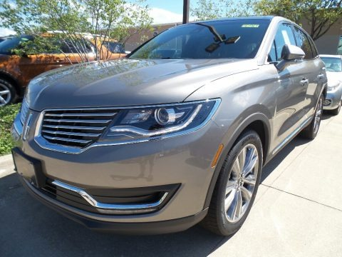 Luxe Silver 2017 Lincoln MKX Reserve AWD