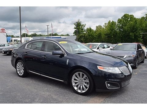 Dark Ink Blue Metallic 2009 Lincoln MKS Sedan
