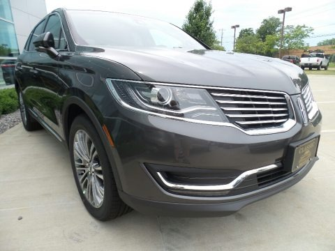 Magnetic Gray 2017 Lincoln MKX Reserve AWD
