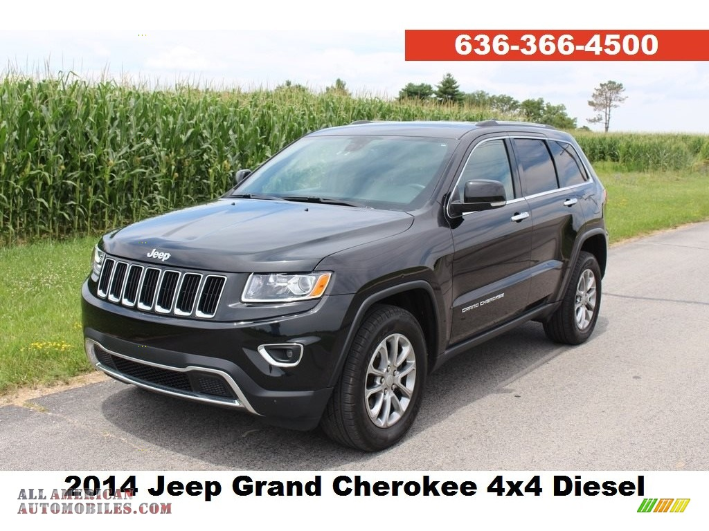 2014 jeep grand cherokee limited 4x4 in brilliant black crystal pearl for sale 528060 all. Black Bedroom Furniture Sets. Home Design Ideas