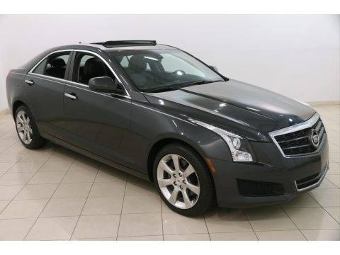 Phantom Gray Metallic 2014 Cadillac ATS 2.0L Turbo AWD