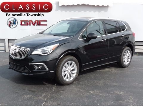 Ebony Twilight Metallic 2017 Buick Envision Essence