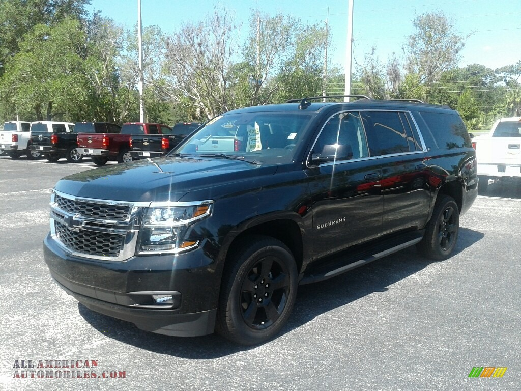 2017 chevrolet suburban lt in black 274339 all american automobiles buy american cars for. Black Bedroom Furniture Sets. Home Design Ideas