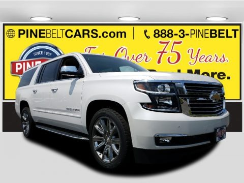 Summit White 2017 Chevrolet Suburban Premier 4WD