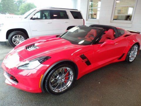 Torch Red 2018 Chevrolet Corvette Grandsport Coupe