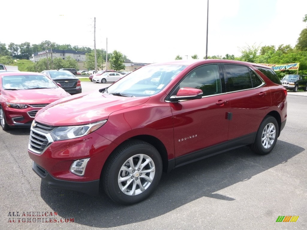 2018 Chevrolet Equinox Lt Awd In Cajun Red Tintcoat
