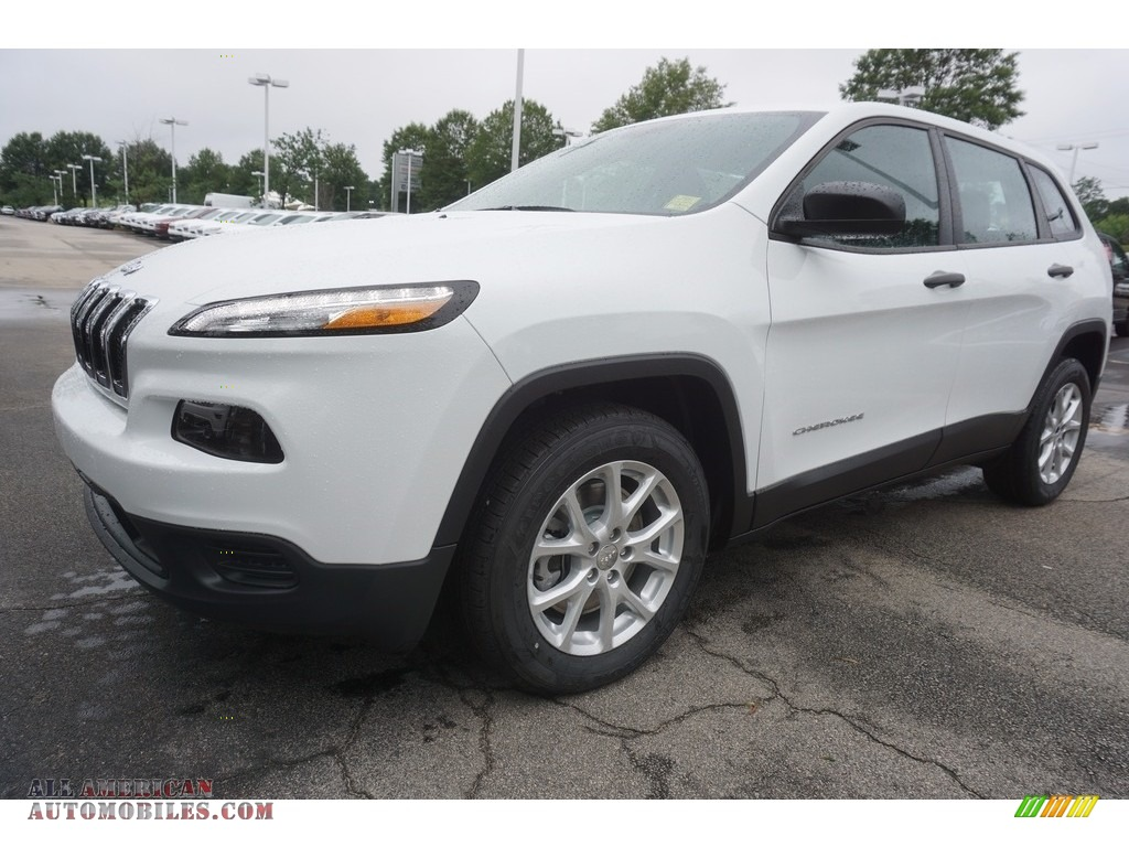 Ron Lewis Chrysler Dodge Jeep Ram Pleasant Hills >> 2017 Jeep Cherokee Sport in Bright White - 214511 | All American Automobiles - Buy American Cars ...