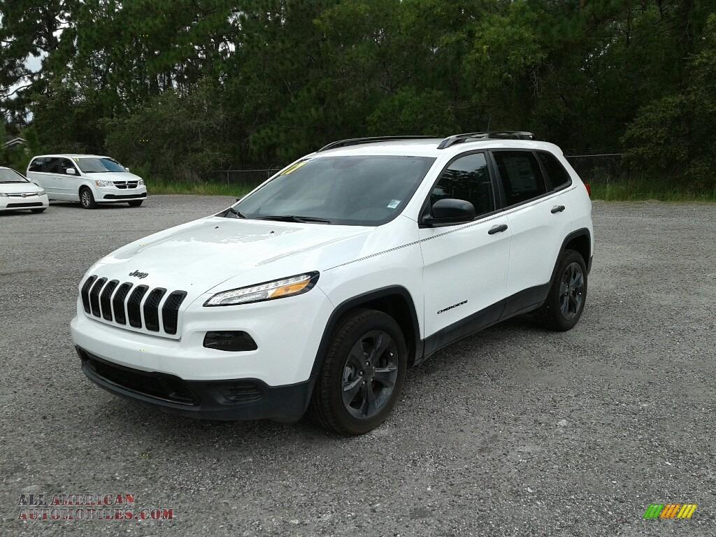2017 Jeep Cherokee Sport Altitude In Bright White 652801