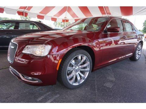 Velvet Red 2017 Chrysler 300 Limited
