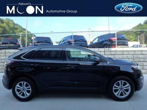 Shadow Black 2017 Ford Edge SEL AWD