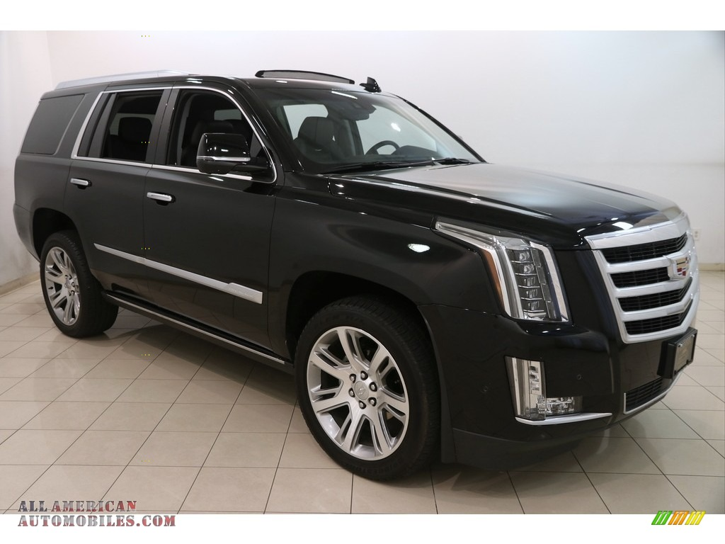 2017 cadillac escalade premium luxury 4wd in black raven 121252 all american automobiles. Black Bedroom Furniture Sets. Home Design Ideas