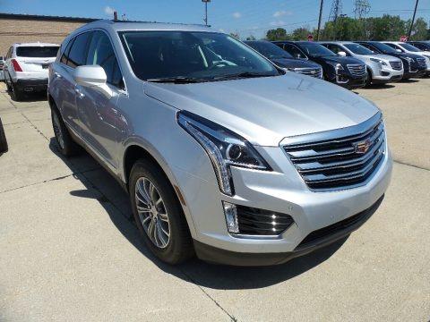 Radiant Silver Metallic 2017 Cadillac XT5 Luxury