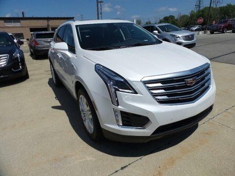Crystal White Tricoat 2017 Cadillac XT5 Premium Luxury