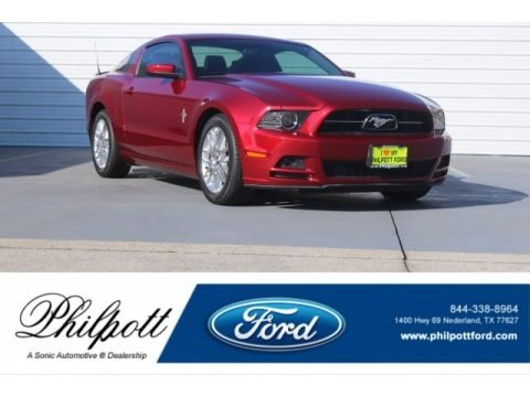 Race Red 2014 Ford Mustang V6 Premium Coupe