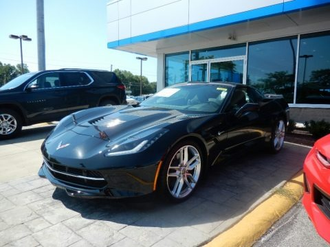 Black 2018 Chevrolet Corvette Stingray Coupe