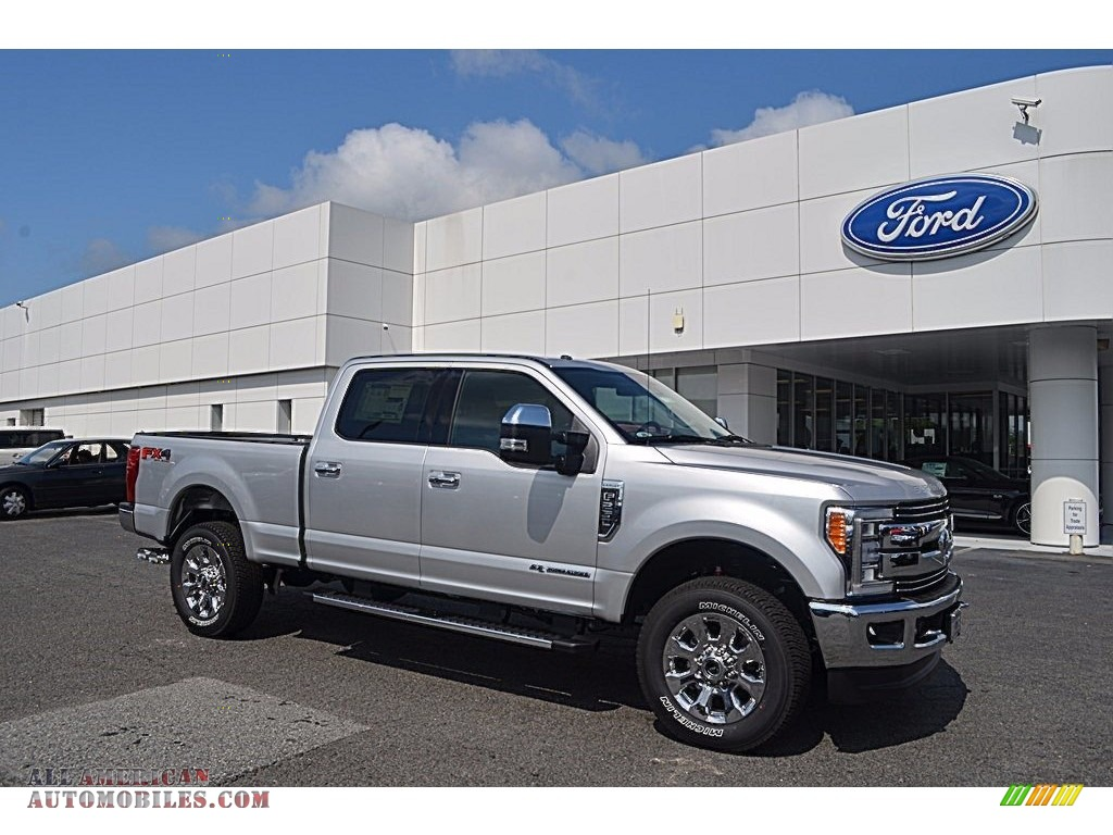 2017 ford f250 super duty xlt crew cab 4x4 in ingot silver e12104 all american automobiles. Black Bedroom Furniture Sets. Home Design Ideas