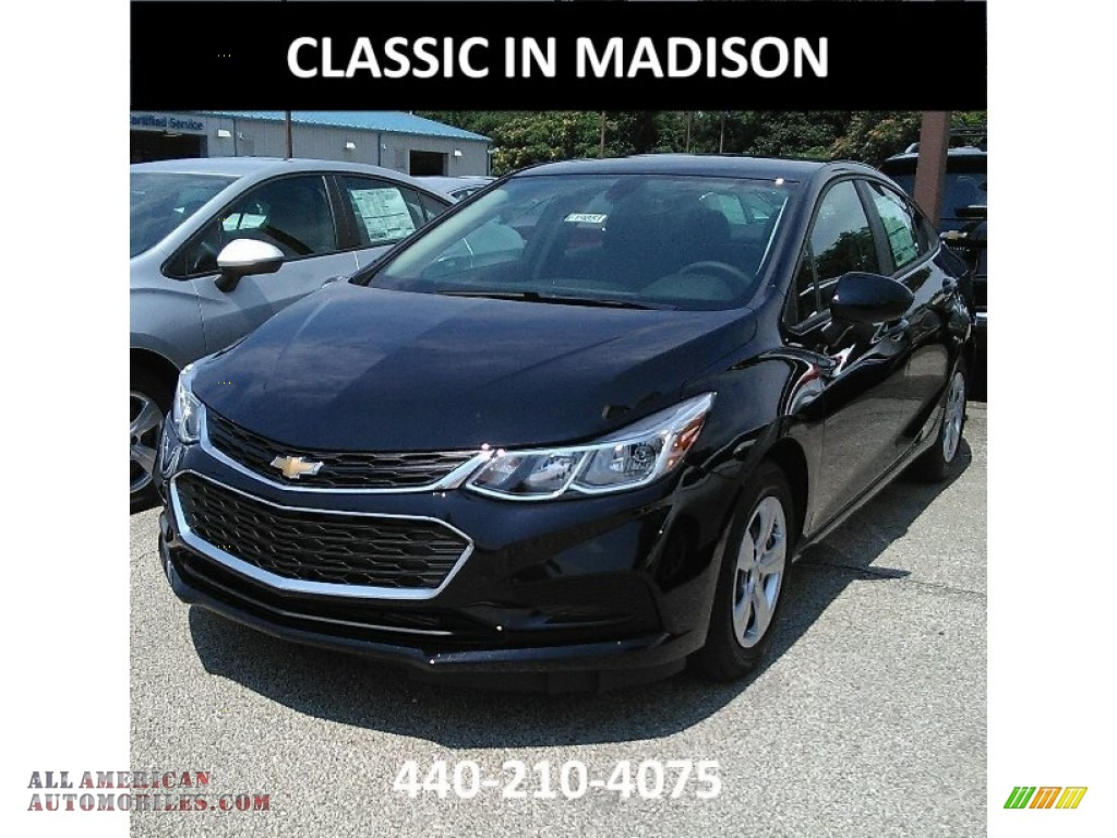 2017 chevrolet cruze ls in mosaic black metallic 212925 all american automobiles buy. Black Bedroom Furniture Sets. Home Design Ideas