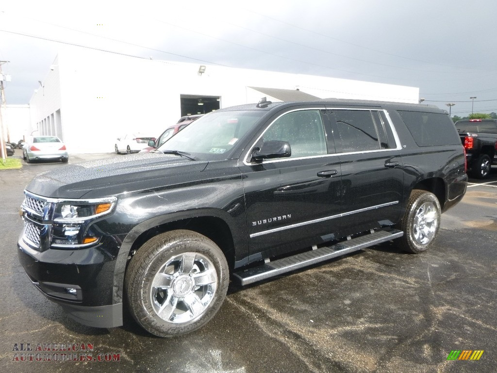 2017 chevrolet suburban lt 4wd in black 360337 all american automobiles buy american cars. Black Bedroom Furniture Sets. Home Design Ideas