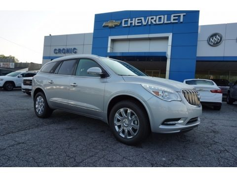 Quicksilver Metallic 2017 Buick Enclave Leather