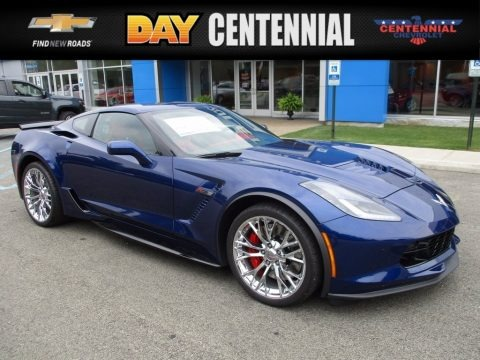 Admiral Blue Metallic 2018 Chevrolet Corvette Z06 Coupe