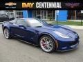 Chevrolet Corvette Z06 Coupe Admiral Blue Metallic photo #1