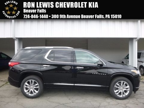 Mosaic Black Metallic 2018 Chevrolet Traverse High Country AWD