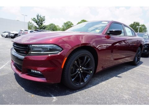 Octane Red 2017 Dodge Charger SXT