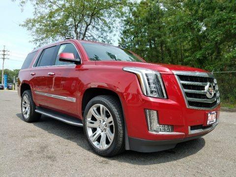 Crystal Red Tintcoat 2015 Cadillac Escalade Luxury 4WD
