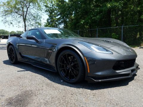 Watkins Glen Gray Metallic 2017 Chevrolet Corvette Grand Sport Coupe