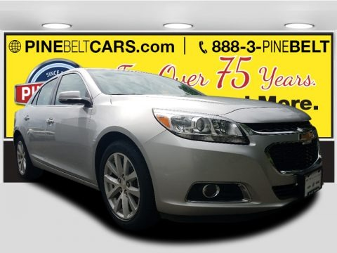 Silver Ice Metallic 2016 Chevrolet Malibu Limited LTZ