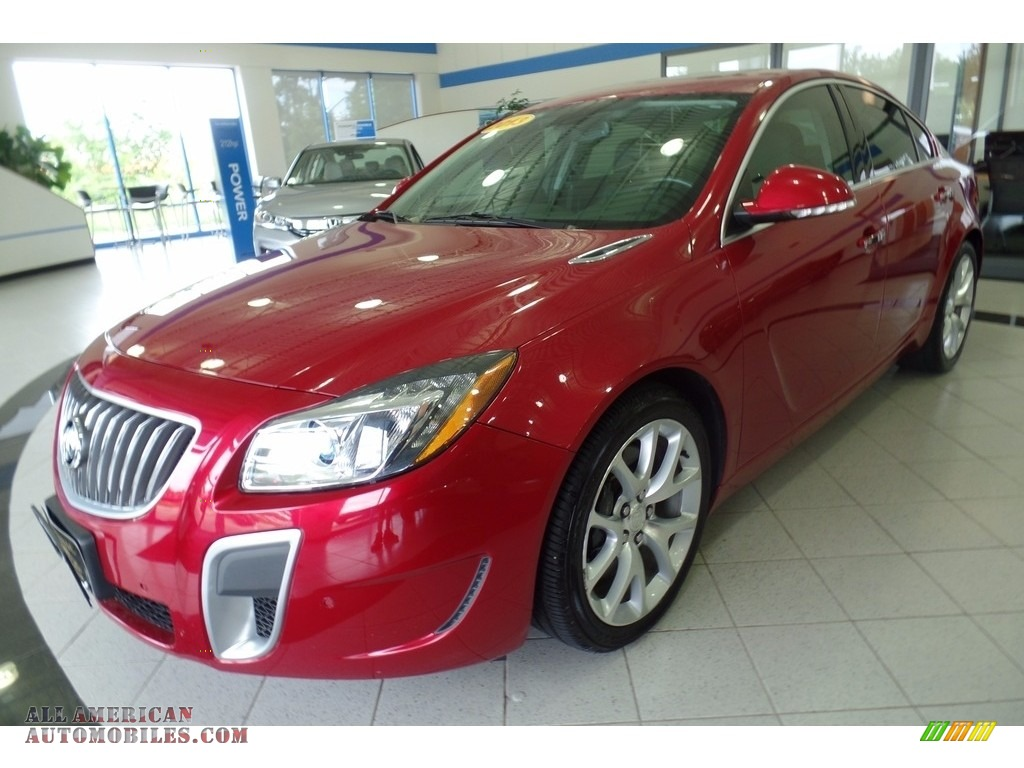 2013 buick regal gs in crystal red tintcoat 213052 all american automobiles buy american. Black Bedroom Furniture Sets. Home Design Ideas