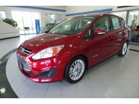 Ruby Red 2013 Ford C-Max Hybrid SE