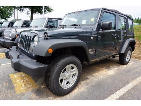 Rhino 2017 Jeep Wrangler Unlimited Sport 4x4