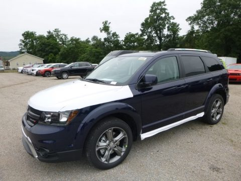 Contusion Blue 2017 Dodge Journey Crossroad AWD