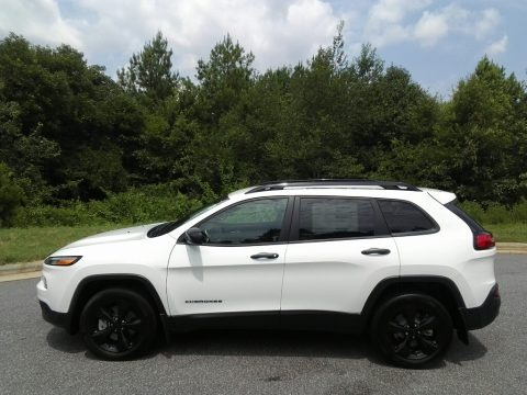 Bright White 2017 Jeep Cherokee Sport 4x4