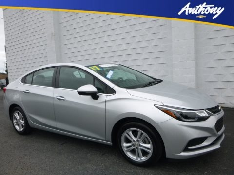 Silver Ice Metallic 2017 Chevrolet Cruze LT