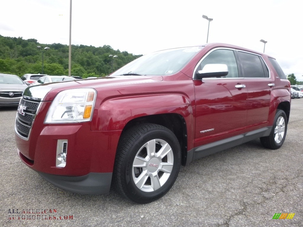 2012 gmc terrain sle awd in merlot jewel metallic 227307. Black Bedroom Furniture Sets. Home Design Ideas