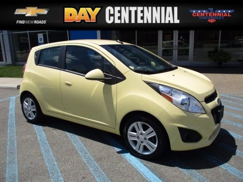 Lemonade (Yellow) 2013 Chevrolet Spark LT