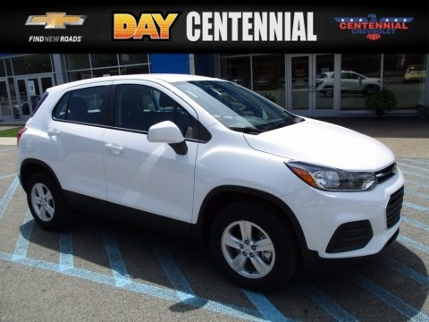 Summit White 2017 Chevrolet Trax LS AWD