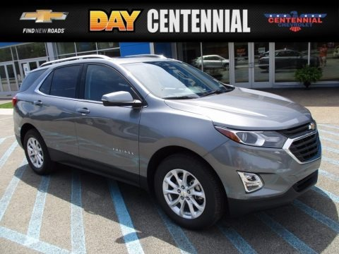 Satin Steel Metallic 2018 Chevrolet Equinox LT AWD