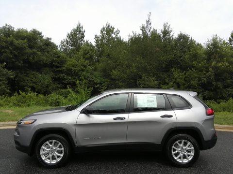 Billet Silver Metallic 2017 Jeep Cherokee Sport 4x4